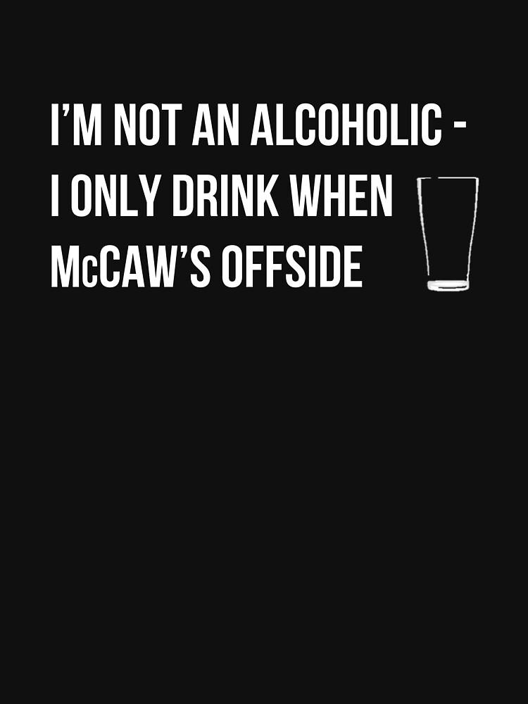 McCaw Offside (reversed)   Unisex T-Shirt