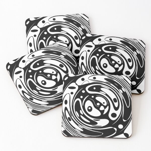 Dawn's Tear Drops Coasters (Set of 4)