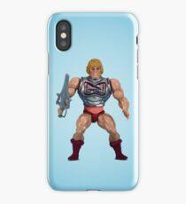 He-Man (battle damage) iPhone Case
