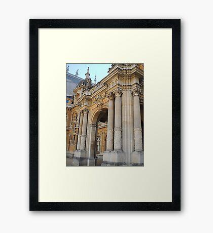Waddesdon Manor Entrance Framed Print