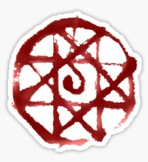 FMA blood seal Sticker