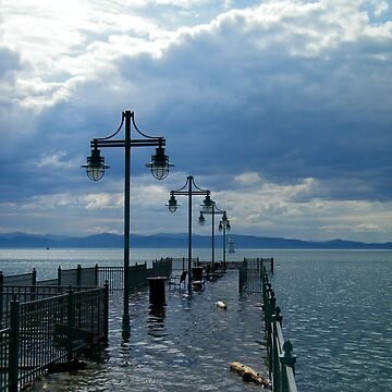 Fishing Pier - Burlington, VT by PASpencer