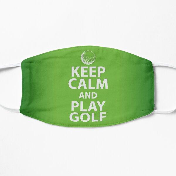 Keep Calm and Play Golf Mask