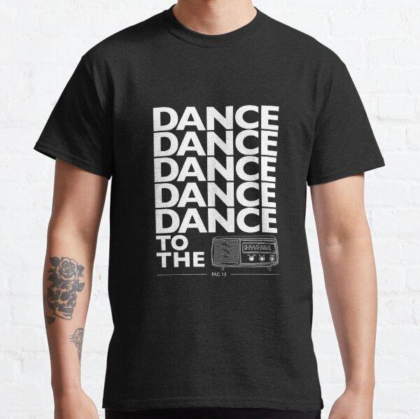 Dance To The Radio (White Graphic) Classic T-Shirt
