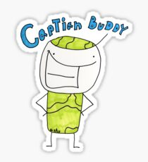 Captain Buddy T-Shirt by Josiathe Price Sticker