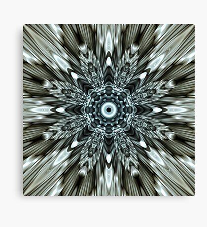 Metallic Implosion Canvas Print