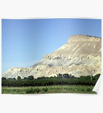 Mount Garfield Poster