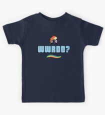 What Would Rainbow Dash Do? Kids Tee