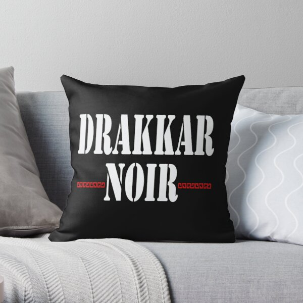 drakkar noir Throw Pillow