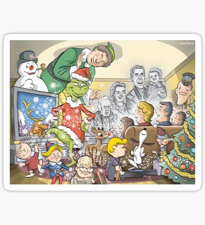 Christmas Specials Sticker