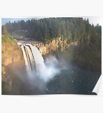Issaquah Waterfalls  Poster