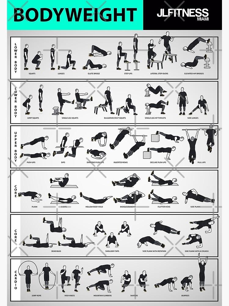 Bodyweight Training- 32 Illustrated Exercises by Juanlugo59