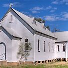 The Country Church, Garah, NSW by Adrian Paul