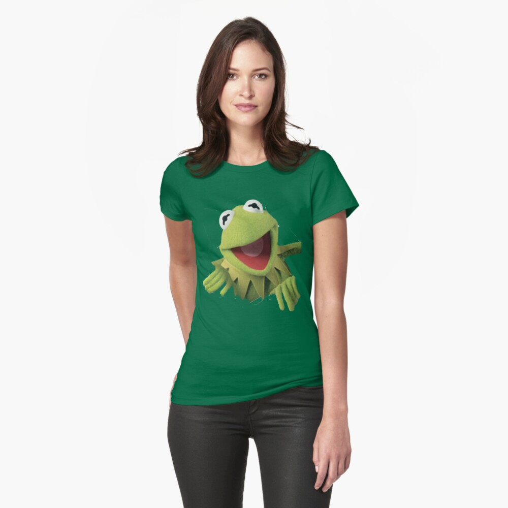 Kermit The Frog Womens T-Shirt Front