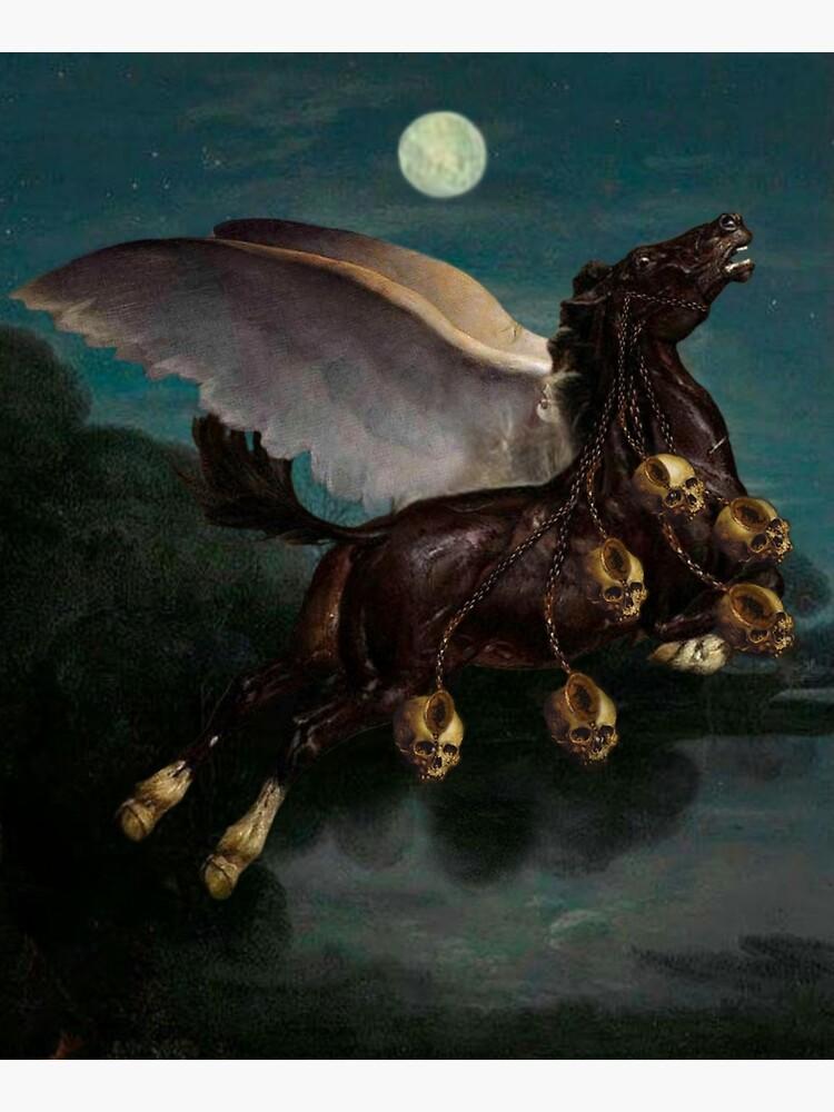 PEGASUS IN THE BATTLE ⠀ by Welderwings