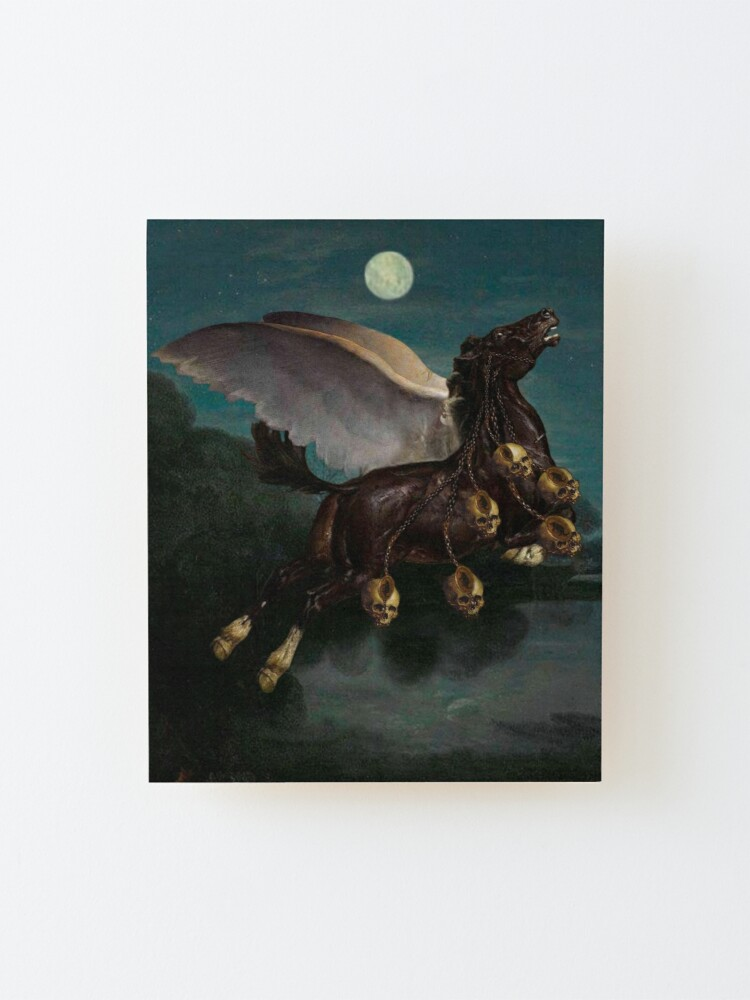 Alternate view of PEGASUS IN THE BATTLE ⠀ Mounted Print