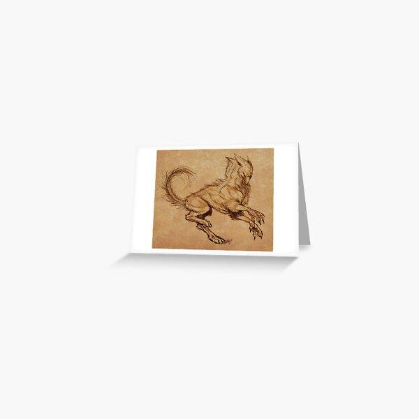 Common Griefler - Artwork 1 Greeting Card