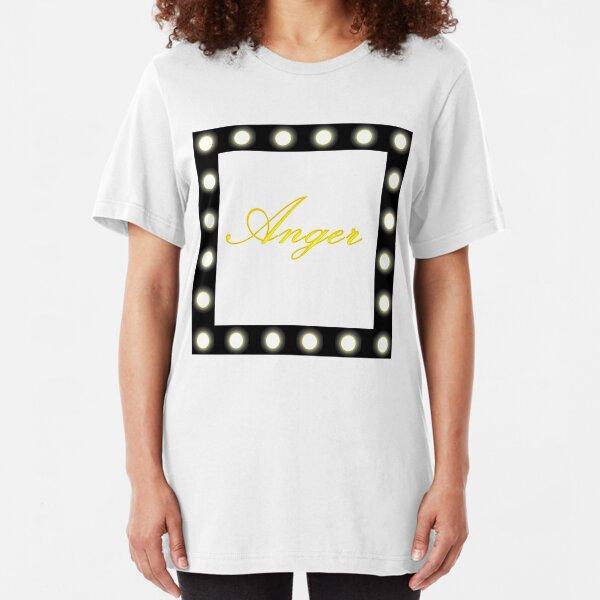Anger Slim Fit T-Shirt