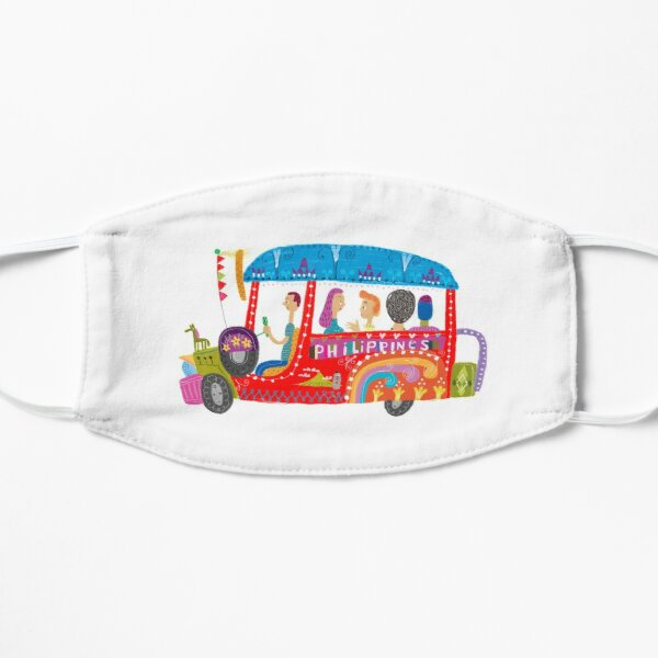 The Philippine jeepney illustrated by Robert Alejandro Mask