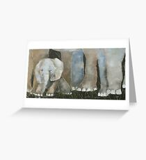 Baby Elephant 2 Greeting Card