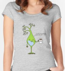 Caffeinated neuron Women's Fitted Scoop T-Shirt
