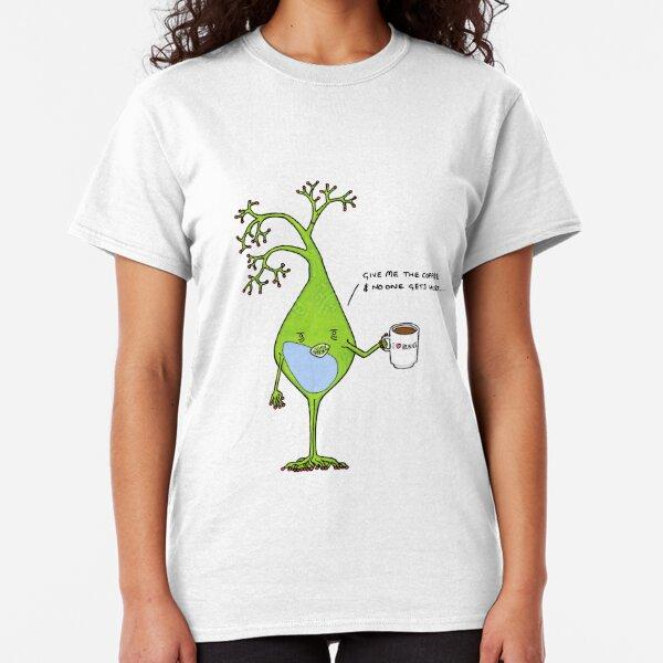 Coffee Heartbeat T-Shirt Tee TShirt Funny At Heart Addict Bean Latte Espresso