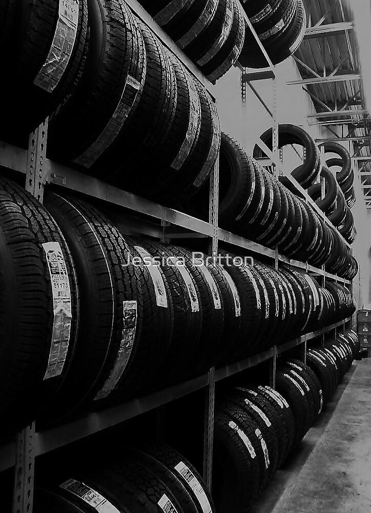 Tire Rack by Jessica Britton