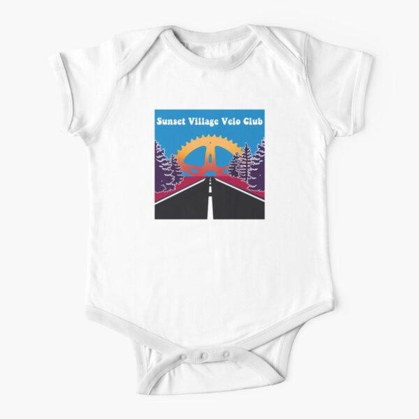 Sunset Village Velo Club Short Sleeve Baby One-Piece