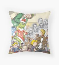 Christmas Classic characters Throw Pillow