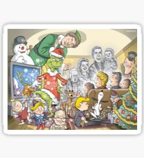 Christmas Classic characters Sticker
