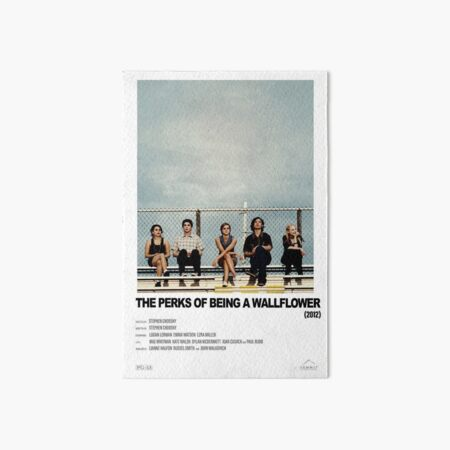 The Perks of Being a Wallflower (2012) Alternative Film Poster Art Board Print
