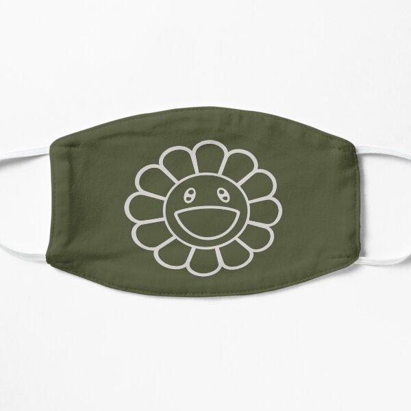 Hobicore hobi jhope smile murakami flower Army green Mask