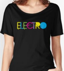 ELECTRO Women's Relaxed Fit T-Shirt