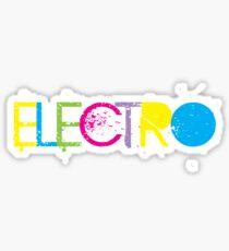 ELECTRO Sticker