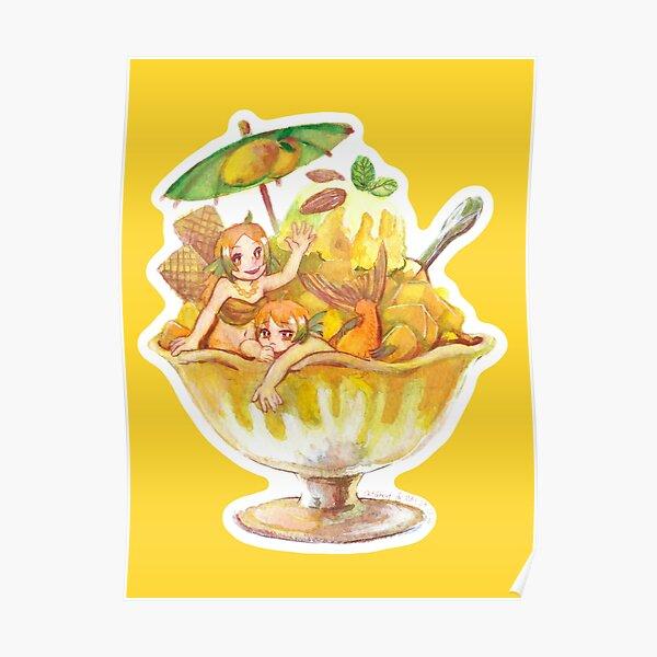 Goldfish Mango Ice Poster