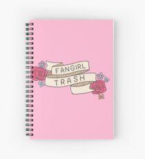 Cuaderno de espiral Fangirl Trash