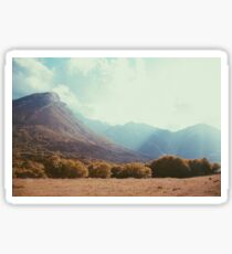 Mountains in the background V Sticker