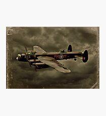 103 Squadron Avro Lancaster  Photographic Print