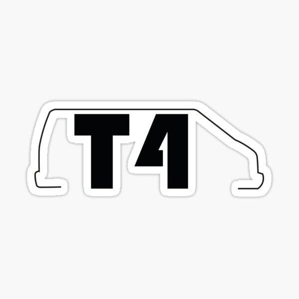 Pegatina VANLIFE VW T4 Pegatina