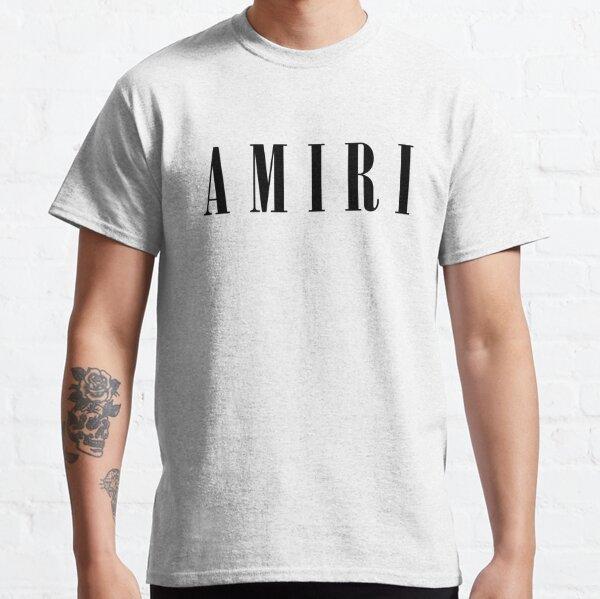 Amiri Black Font Classic T-Shirt