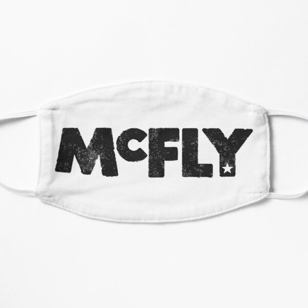 McFly Logo (black) Flat Mask