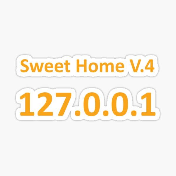 Sweet Home Localhost Sticker