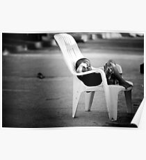 The Plastic chair Kid Poster