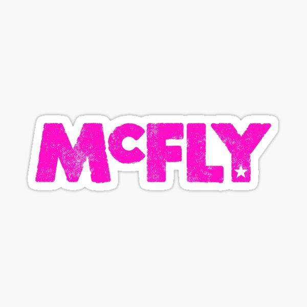 McFly Logo (pink) Sticker