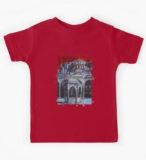 Sultan Ahmed Blue Mosque in Istanbul, Turkey Kids Tee