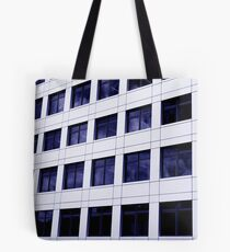 Urban Grid Tote Bag