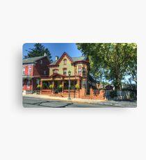 Main Street Inn Canvas Print