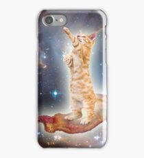Bacon Space Cat iPhone Case/Skin