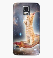 Bacon Space Cat Case/Skin for Samsung Galaxy