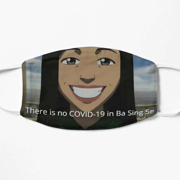 """there is no covid in ba sing se"" avatar the last airbender mask Mask"